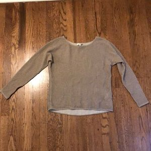 Beautiful shimmery Joie gold sweater size XS
